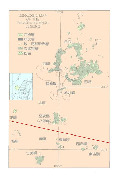 雷州半岛地质图