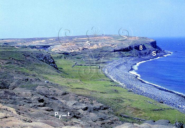 澎湖列岛的火山岩* 作者:庄文星