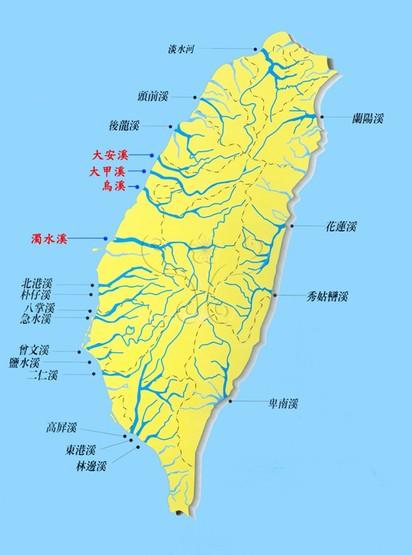 青岛市水库河流分布图